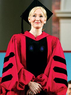 J.K. Rowling to Harvard Grads: Giving's a Gift