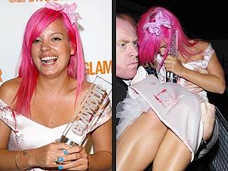 Lily Allen Calls Drunken Behavior 'Embarrassing'
