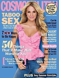 Carrie Underwood Admits: 'I Burp A Lot'