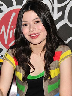 Miranda Cosgrove Is Coy About Who She's Kissing