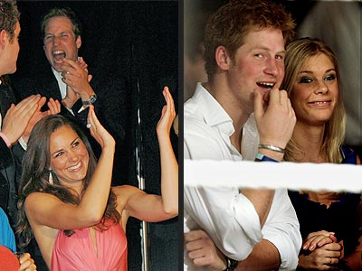William and Harry's Double Date