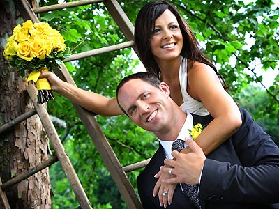 FIRST LOOK: Sara Evans Wedding Photo
