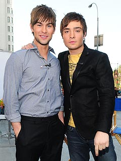 Ed Westwick Pokes Fun at Chace Crawford
