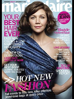 Maggie Gyllenhaal: Brother Jake Is a Natural with Kids