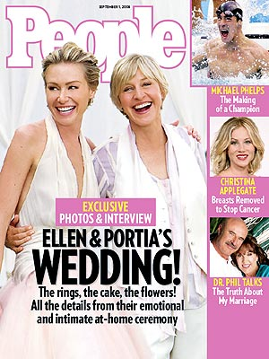 FIRST LOOK: Ellen & Portia&#39;s Wedding Album