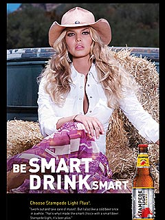 PHOTO: Jessica Simpson&#39;s New Beer Ad