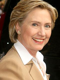 Hillary Clinton Fractures Elbow