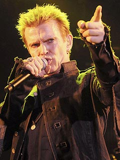 Billy Idol to 'Properly Rock' ET/PEOPLE Emmy Party