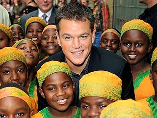 Matt Damon's Baby Is 'Smiling' Already