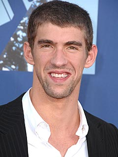Michael Phelps Makes Like 'Turtle' from Entourage