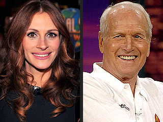 Julia Roberts: Paul Newman 'Was My Hero'