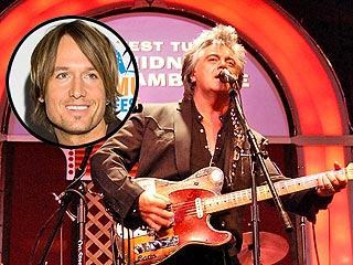 Keith Urban Serenades Marty Stuart at the Grand Ole Opry
