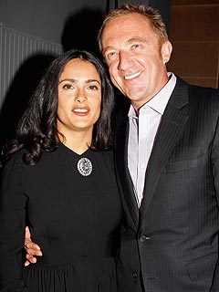 Salma Hayek Steps Out With Her Ex – Again!