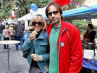 Post-Rehab, David Duchovny Steps Out with Téa Leoni