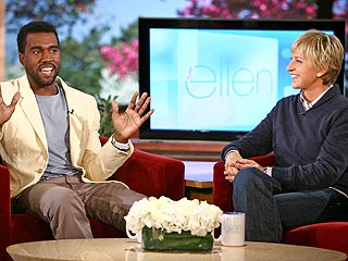 Kanye Tells Ellen, 'You've Got Great Style'