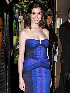 Anne Hathaway Has a 'Sexy' New Mystery Man
