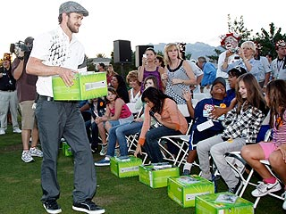 Inside Justin Timberlake & Pals $1M Fundraiser