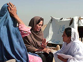 Angelina Jolie Sees 'Real Suffering' in Afghanistan