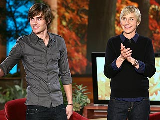 Zac Efron to Ellen: I Modeled My Hair After You