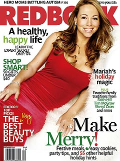 Mariah Carey Strips Down for Christmas