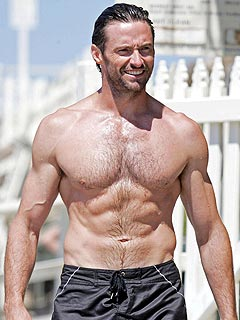 Hugh Jackman Prepares to Pass Sexiest Man Alive Crown