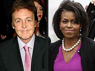 Paul McCartney Wants to Serenade Michelle Obama