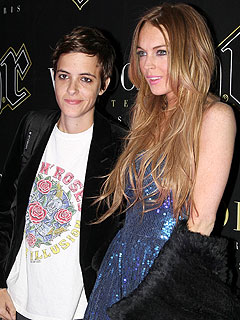 Lindsay Lohan, Samantha Ronson Break Hearts on Valentine's Day