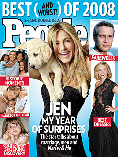 Jennifer Aniston on Marriage, Bad Habits and Turning 40