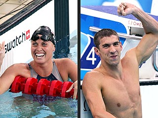 Amanda Beard Denies Dating Michael Phelps &#8211; But Says He&#39;s Not &#39;Nasty&#39;