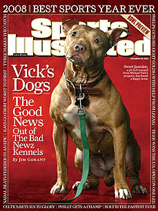 The Harrowing Tale of Michael Vick&#39;s Dogs Make Cover of Sports Illustrated