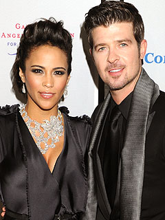 Robin Thicke Still Adjusting to Being a Dad