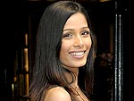 Slumdog's Freida Pinto Gets a Round of Applause at Koi | Freida Pinto