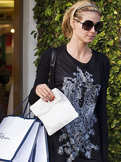 Heidi Klum's Post-Pregnancy Family Shopping Trip