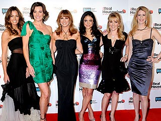 Real Housewives of N.Y.C. Celebrate Second Season