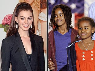 Anne Hathaway: I Want to Babysit the Obama Girls