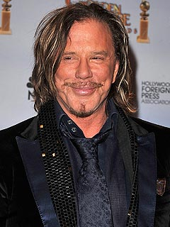 Mickey Rourke's Tough Ab Workout in N.Y.C.