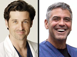 Clooney vs. Dempsey? No Competition Between TV Docs, Says McDreamy