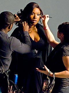 PHOTO: Jennifer Hudson Films New Music Video