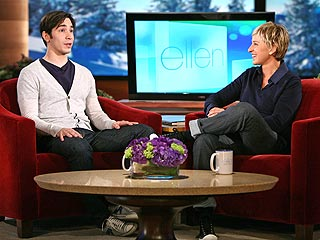 Ellen Makes Things Awkward for Justin Long