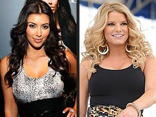 Kim Kardashian: Jessica Simpson 'Looks Hot!'