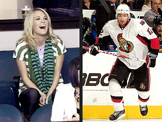 Carrie Underwood Cheers Her Hockey Beau