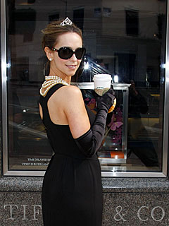 Jennifer Love Hewitt Channels Audrey Hepburn for B-day