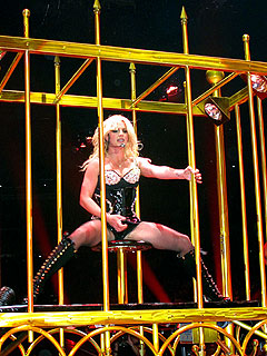 Bad Economy May Fold Britney Spears's Circus Tent