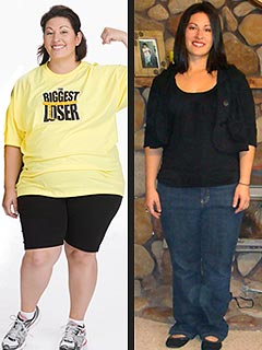 Biggest Loser's Aubrey Balances Calories &Kids
