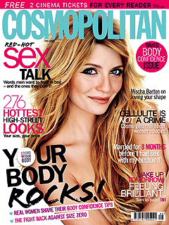 Mischa Barton Proudly Strips Down for Magazine