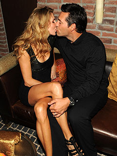 Eddie Cibrian & Wife Party in Las Vegas