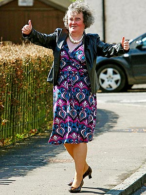 Check Out Susan Boyle's New Look