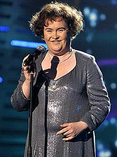 Susan Boyle Wows the Crowd at London Shows
