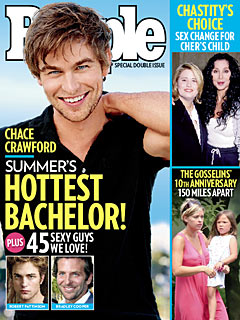 Chace Crawford Tops PEOPLE's Hottest Bachelors List