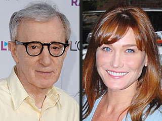 Carla Bruni Films Woody Allen Movie in Paris with Owen Wilson